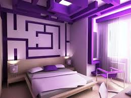 Innovative Bedroom Decor Ideas With Ceramic Wall And Floor by Purple Themed Living Room Ideas Cream Fabric Curtain Light Brown