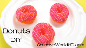creation cuisine 3d how to donuts 3d printing pen creations scribbler diy