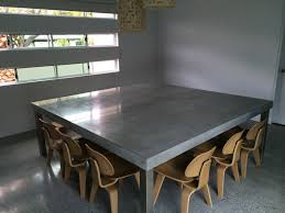 concrete nation polished concrete furniture