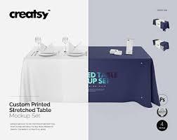 6ft Imprinted Table Cover Custom Custom Tablecloth Etsy