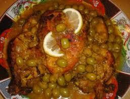poulet aux olives facon marocaine les delices de et saida