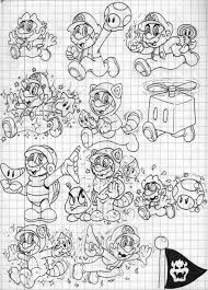 8 images mario power ups coloring pages super mario kart