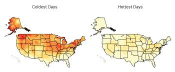 National Temperature Map January Temperature Of Usa Assessing The Us Climate In January