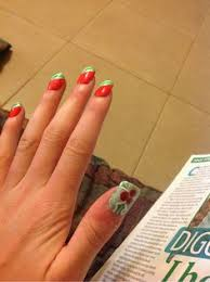 nail painting ideas for short nails fingernails painted and