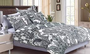 New York Bed Set Hotel New York Bed In A Bag Comforter Set 7 Or 8 Groupon