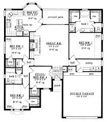 bungalow blueprints four bedroom bungalow house plans astounding homey inspiration two