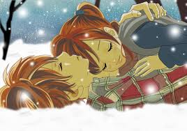 bokura ga ita winter snow couple boy anime and fantasy