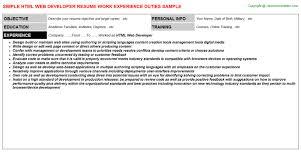 Resume Titles Samples Angularjs Web Developer Resumes Samples