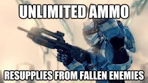 Swat Meme - unlimited ammo resupplies from fallen enemies halo swat quickmeme
