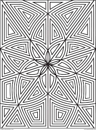 100 coloring pages shapes geometric free shape tracing