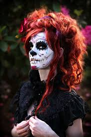 Scary Halloween Looks 36 Best Day Of The Dead Face Paint Designs Images On Pinterest