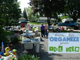 how to have a very successful yard sale organizing your sale