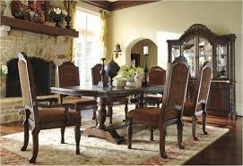 mirror dining table set elegant north shore double pedestal