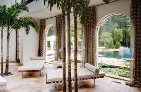 designs ideas pool house decor with modern daybeds near brown