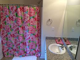 when even your bathroom wears lilly tsm new apartment