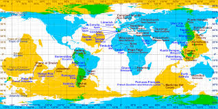 Map Of The World With Latitude And Longitude by Antipodes Wikipedia