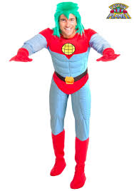 2nd skin halloween costumes captain planet costume