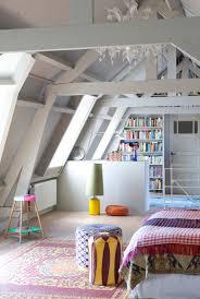 Attic Bedroom by Beams And Vault In An Attic Bedroom White Beams Bedroom