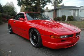 red bmw bmw 850csi 1994 hellrot red 8 series bring a trailer
