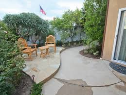 Backyard Stamped Concrete Ideas Concrete Patio Ideas Backyard Christmas Lights Decoration