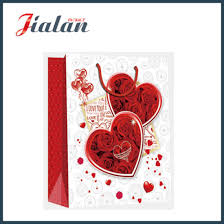 s day shopping china s day heart design printed shopping gift paper