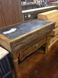 blue stone kitchen island bluestone reclaimed wood small kitchen