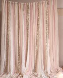 Pink Sparkle Curtains Curtain Pink White Lace Fabric Gold Sparkle Photobooth Backdrop