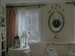 living room drapes with french writing white linen curtains