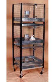 Stackable Rabbit Hutches Triple Stacked Cage Kit 30