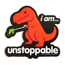 T Rex Meme Unstoppable - tyrannosaurus rex clipart funny dinosaur pencil and in color