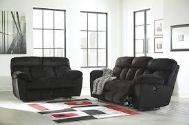 popular of black reclining sofa with transformer augusta black