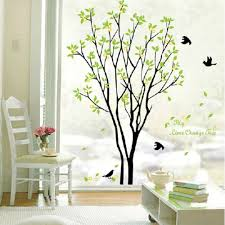 aliexpress com buy decals decor art removable huge birds sing on aliexpress com buy decals decor art removable huge birds sing on the tree wall stickers from reliable sticker holder suppliers on home product no 1