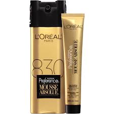 l u0027oreal paris superior preference mousse absolue hair color 830