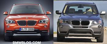 bmw x3 2012 vs 2013 bmw x1 vs x3 will the choice confuse buyers