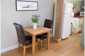 small table with chairs small kitchen table and leather chair set in yorkshire barn from top