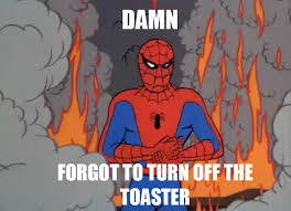 Spierman Meme - 60 s spiderman show caption memes the frederick news post blogs