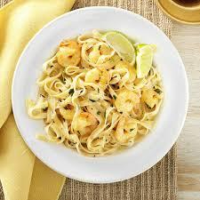 recipes with pasta thai shrimp pasta recipe taste of home