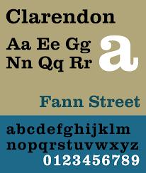 clarendon typeface wikipedia