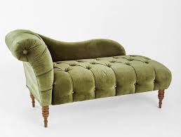 Velvet Chaise Lounge Green Chaise Lounge Edie Velvet Indoor Of With Pictures