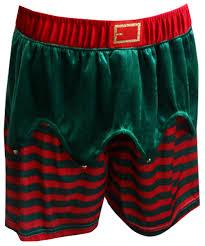 webundies santa s velour boxer shorts
