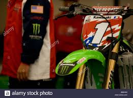 kawasaki motocross bike james bubba stewart u0027s kawasaki motocross bike for the motocross of