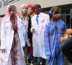 Zombie Chef Halloween Costume Toronto Zombie Walk 2012