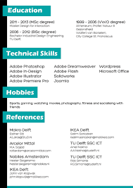 Resume English Example by 8 Best Images Of Curriculum Vitae In English Cv Curriculum Vitae