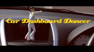 shakin elvis car dashboard dancer