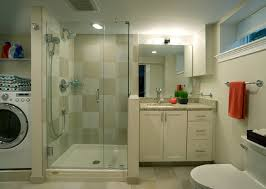 laundry in bathroom ideas ideas for combining a bathroom with a laundry room for a basement