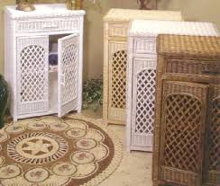 Bathroom Wicker Furniture Finding Wicker Bathroom Furniture That S Durable Home Interior
