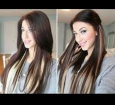 dark hair underneath light on top this but not blonde underneath auburn or just a lighter brown
