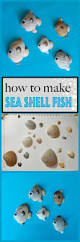 how to make seashell fish crafts by amanda