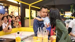 Mango Bomb baru dibuka outlet mango bomb raffi nagita diserbu pelanggan