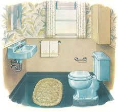 vintage blue bathroom colors from seven manufacturers from 1927 to
